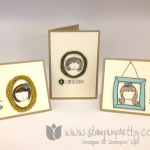 A Trio of Stampin' Up! Sweetie Pie Cards