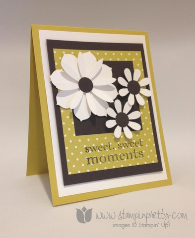Stampin up stamp it stamping happy day demonstrator blog card ideas blossom party die big shot