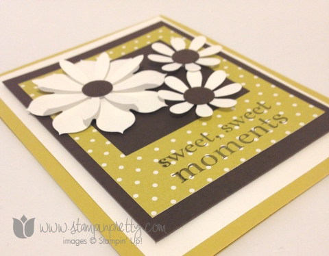 Stampin up stamp it stamping happy day demonstrator blog card idea blossom party die big shot
