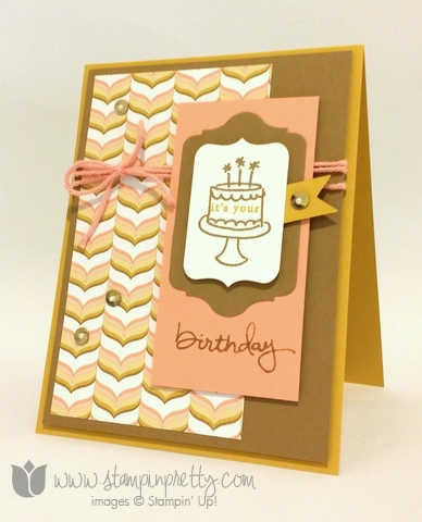 Stampin up endless birthday wishes card stampin pretty stampin up stamping stamp it pretty blogs demonstrator endless wishes birthday card idea photopolymer bookmarktalkfo Gallery