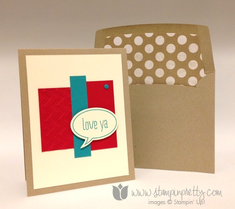 Stampin up stamping stamp it pretty demonstrator blog word bubbles framelits dies just sayin saying card ideas