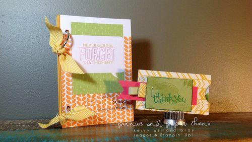Stampin' Up! Project Life #PLxSU teacher book + gift card holder by Kerry Willard Bray www.peoniesandpaperchains.com