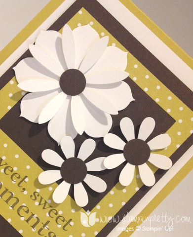 Stampin up stamp it stamping happy day demonstrator blog card ideas blossom party dies big shot