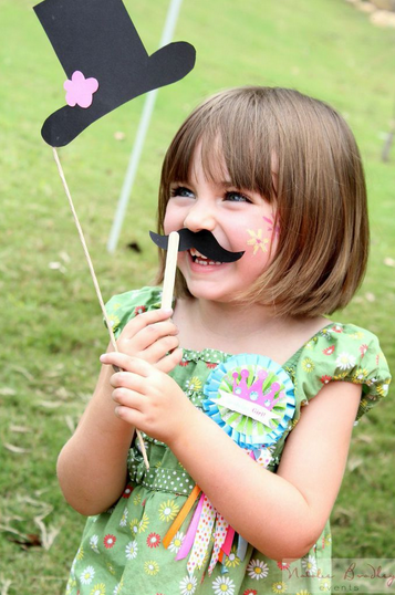 Natalie bradley mustache daughter stampin up