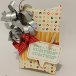 A Splashy Way to Present a Gift Card!