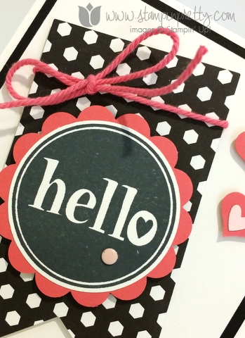 Stampin up stamping pretty demonstrator blog mary fish #hello stamp it free new catalog cards idea