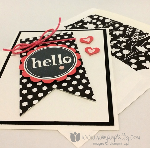Stampin up stamping pretty demonstrator blog mary fish #hello stamp it free new catalogs card idea
