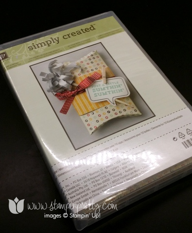 Stampin up stamping up blog demonstrator pillow box a little sumthin sumthin kit gifts card holder