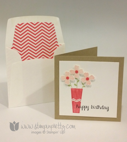 Stampin up stamping stamp it pretty pictogram punches punch happy birthday 3 x 3 card blog