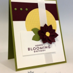 Happy Blooming Birthday Card