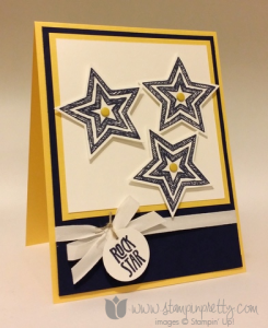 Stampin Up Be the Star Stars Framelits Dies Congratulations Card Ideas Birthday Card Ideas Mary Fish Stampin Pretty Stampinup Demonstrator Blog