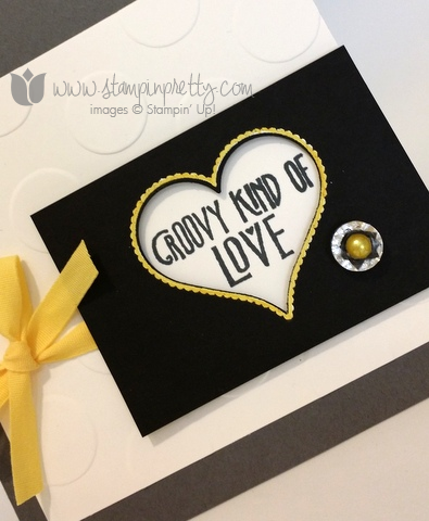 Stampin up stamping pretty groovy kind of love sweetheart punch blendabilities markers card ideas demonstrator blogs