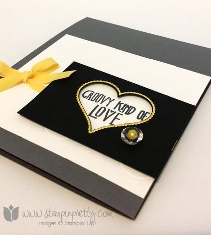 Stampin up stamping pretty groovy kind of love sweetheart punch blendabilities markers card ideas demonstrator blog