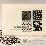 Simple Saturday:  Back to Black Designer Series Paper
