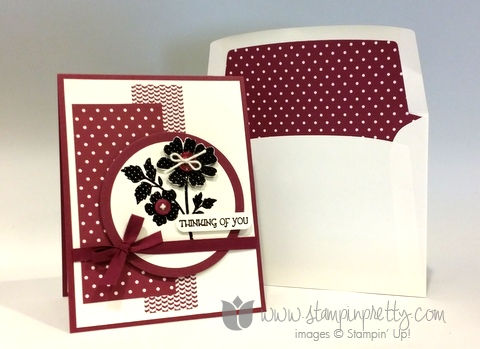 Stampin up stamping pretty sympathy thinking of you card ideas demonstrator blog gifts of kindness stamp set