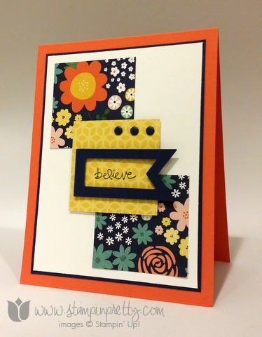 Stampin up stamping pretty stamps it demonstrator card ideas free catalog envelope liner framelits dies big shot