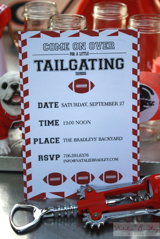 Lets Have a Tailgating Party with Natalie Stampin Pretty