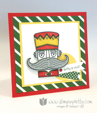 Stampin up stampin' up! mary fish santa stache mustache ppa217 nutcracker