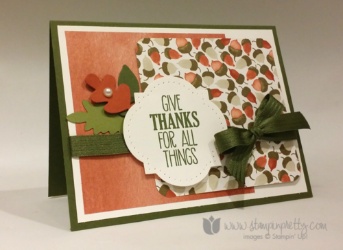 Stampin up stampin' up! mary fish for all thing stamp set pretty