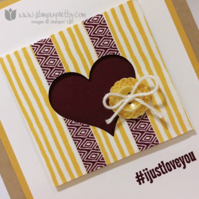 Stampin up stampin' up! washi tape #hello cards ppa218