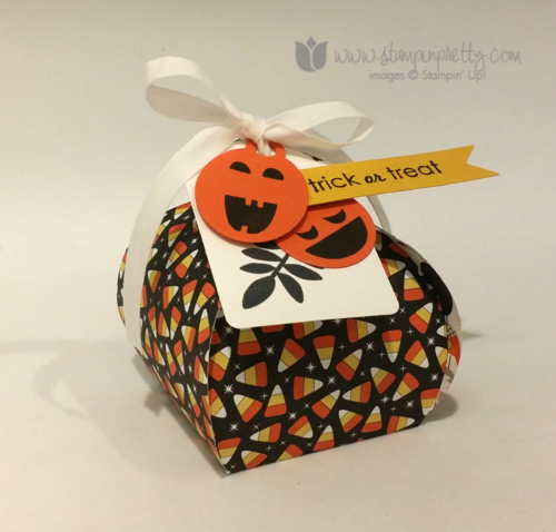 Stampin up stampin' up! mary fish halloween curvy keepsake box die treat