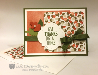 Stampin up stampin' up! mary fish for all things stamp set pretty