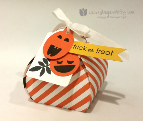 Stampin up stampin' up! mary fish halloween curvy keepsake treat box thinlits dies