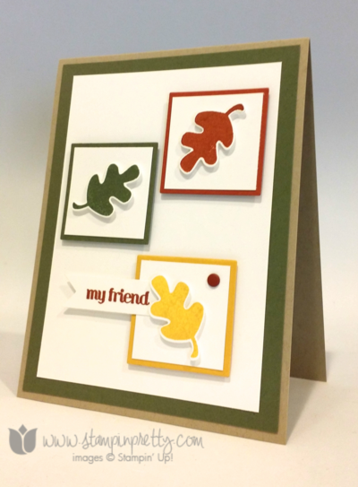 Stampin up stampin' up! mary fish fall fest