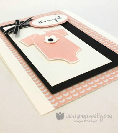 Stampin up stampin' up! mary fish something for baby cards ideas