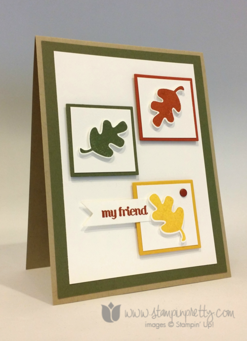 Stampin up stampin' up! mary fish fall fest PPA219