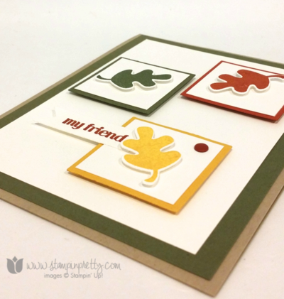 Stampin up stampin' up! mary fish fall fest fun framelits