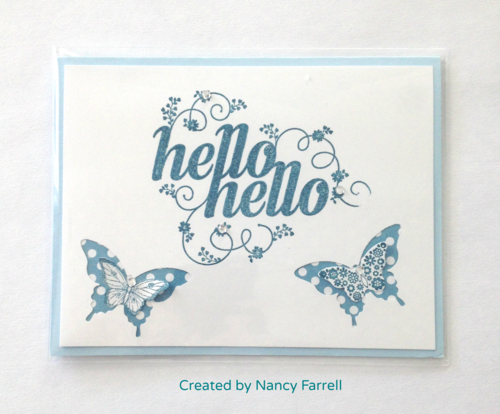 Stampin up hello hello nancy farrell