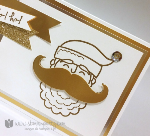 Stampin up stampin' up! stampinup mary fish santa stache mustache framelits die