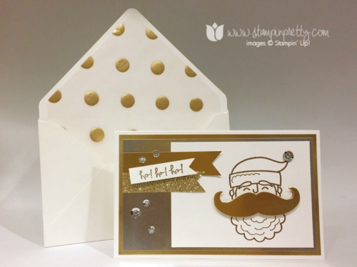 Stampin up stampin' up! stampinup mary fish santa stache