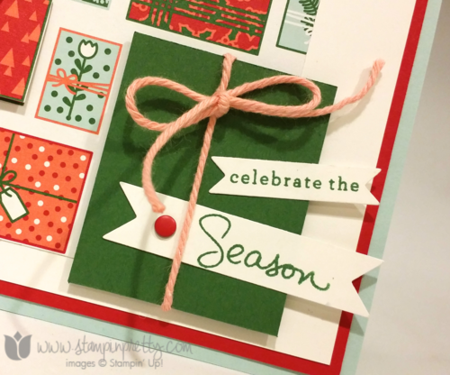 Stampin up stampin' up! mary fish mojo monday holiday cards