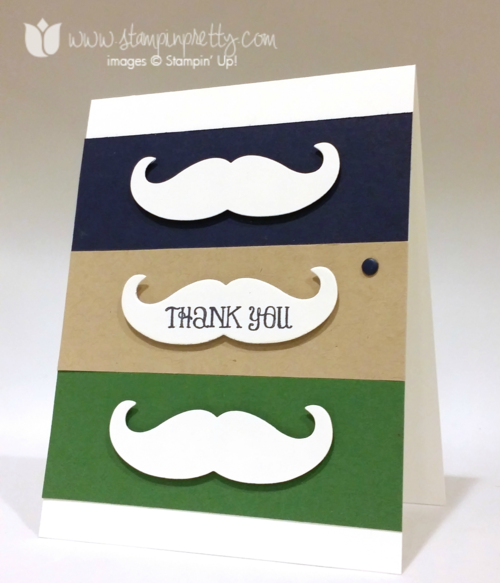Stampin up stampin' up! stampinup mary fish mustache framelits die