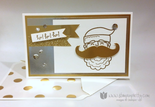 Stampin up stampin' up! stampinup mary fish santa stache endless wishes