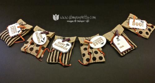 Stampin up stampin' up! stampinup bootiful bags halloween treat