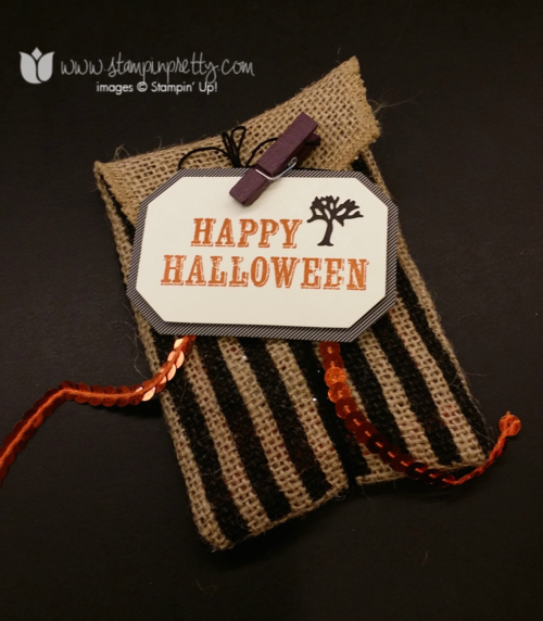 Stampin up, stampin' up!, stampinup, mary fish, bootiful bags halloween treat