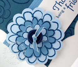 Stampin up flower fest summer mini catalog scallop circle punch