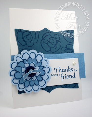 Stampin up flower fest summer mini catalog pals paper arts