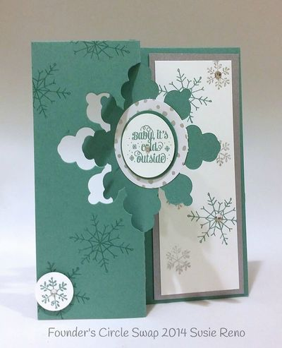Stampin up stampin' up! stampinup stamping pretty mary fish snowflake thinlits die