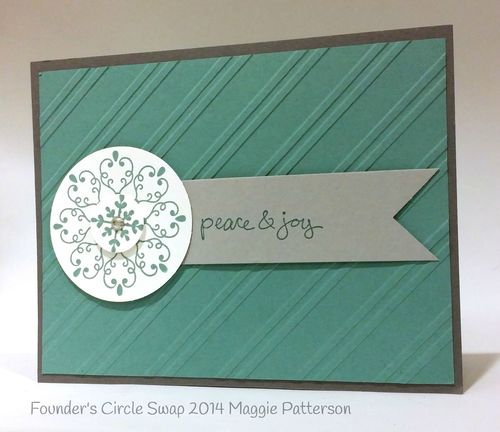 Stampin up stampin' up! stamping stampinup mary fish letterpress winter