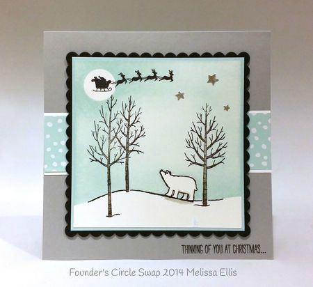 Stampin up stampin' up! stampinup stamping mary fish pretty white christmas