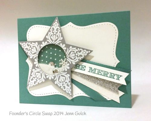 Stampin up stampin' up! stampinup stamping mary fish pretty shaker card star