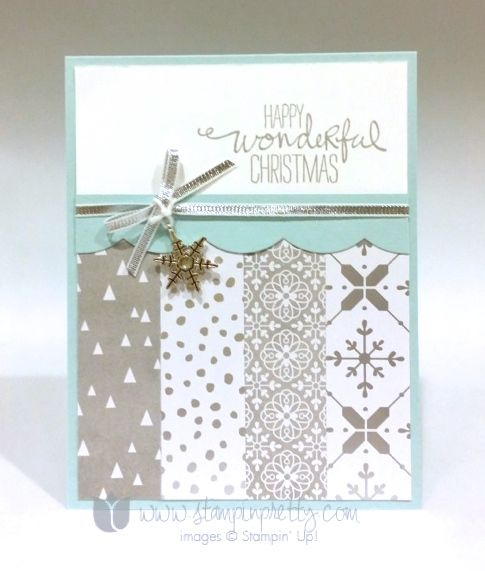 Stampin up stampin' up! stampinup stamping pretty mary fish wondrous wreath 3