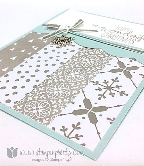 Stampin up stampin' up! stampinup stamping pretty mary fish wondrous wreath