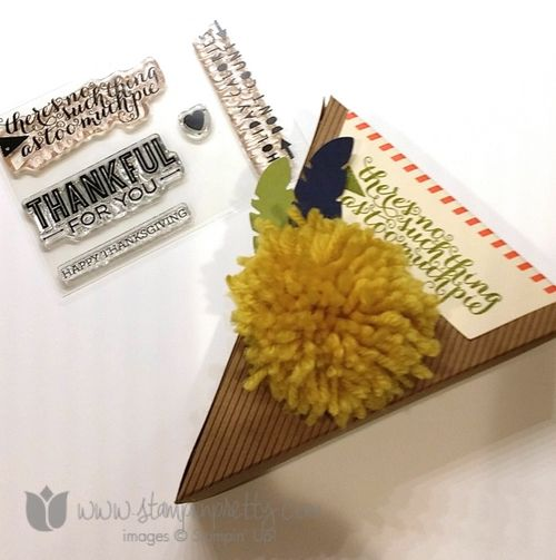 Stampin up stamping up stampinup mary fish sweet as pie paper pumpkin kit