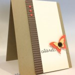 "Simple ""Celebrate"" Card for PPA 222"