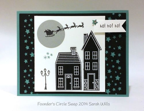 Stampin up stampin' up! stampinup stamping pretty mary fish holiday homes